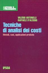 Tecniche di analisi dei costi