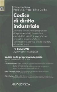 Codice di diritto industriale. Appendice annotata