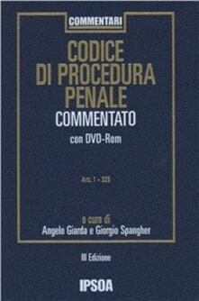 Codice di procedura penale commentato. Con DVD
