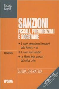 Sanzioni fiscali, previdenziali e societarie