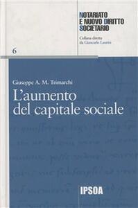 Aumento del capitale sociale