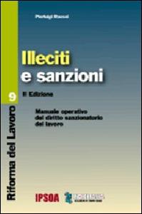 Libro Illeciti e sanzioni Pierluigi Rausei