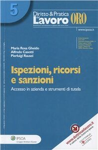 Foto Cover di Ispezioni, ricorsi e sanzioni, Libro di AA.VV edito da Ipsoa