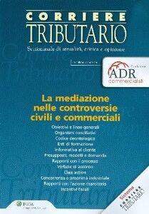 Libro La mediazione nelle controversie civili e commerciali
