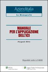 Libro Manuale per l'applicazione dell'ICI Pasquale Mirto