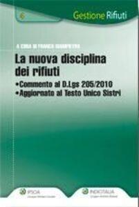 Libro La nuova disciplina dei rifiuti