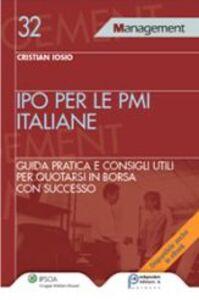 Libro Ipo per le PMI italiane Cristian Iosio