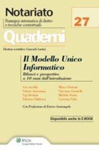 Libro Il modello unico informatico