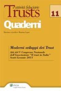 Libro Moderni sviluppi dei trust. Atti del 5° Congresso nazionale