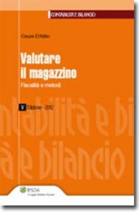 Libro Valutare il magazzino Cesare D'Attilio