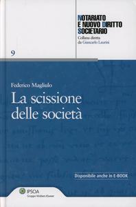 Libro La scissione delle società Federico Magliulo