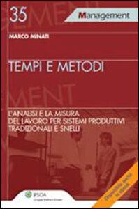 Libro Tempi e metodi Marco Minati