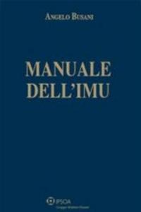 Libro Manuale dell'IMU Angelo Busani