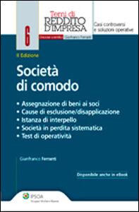 Libro Società di comodo Gianfranco Ferranti