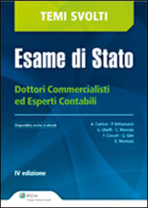 Libro Dottori commercialisti ed esperti contabili. Esame di Stato