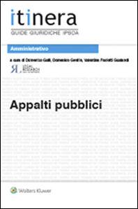 Libro Appalti pubblici