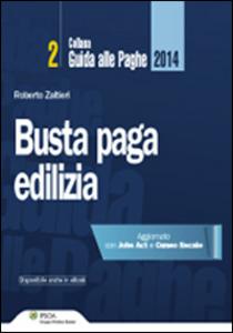 Libro Busta paga edilizia Roberto Zaltieri
