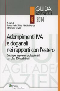 Adempimenti IVA e doganali nei rapporti con l'estero