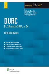 Durc. Documento unico di regolarità contributiva