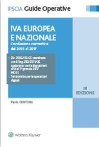 IVA europea e nazionale. L'evoluzione normativa dal 2015 al 2017