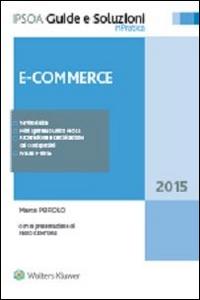 Libro E-Commerce Marco Peirolo