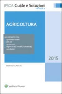 Libro Agricoltura Federico Gavioli