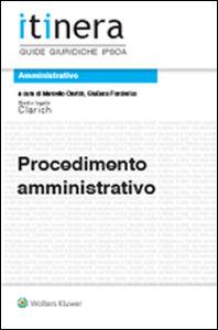 Foto Cover di Procedimento amministrativo, Libro di  edito da Ipsoa