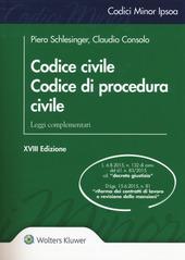 Codice civile. Codice di procedura civile. Leggi complementari