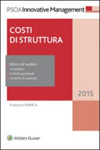 Libro Costi di struttura Francesco Manca
