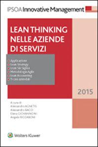 Libro Lean thinking nelle aziende di servizi