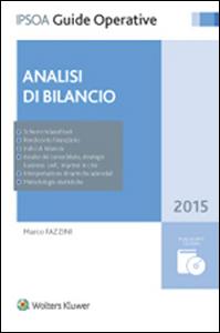 Libro Analisi di bilancio. Con CD-ROM Marco Fazzini