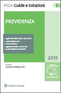 Libro Previdenza. Con CD-ROM