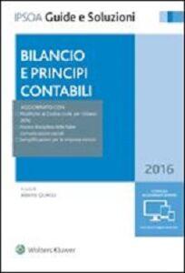 Libro Bilancio e principi contabili