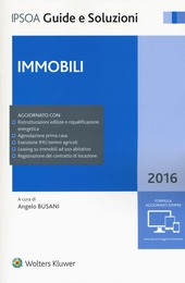 Immobili 2016. Con aggiornamento online