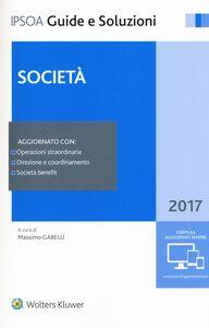 Libro Società 2017. Con aggiornamento online