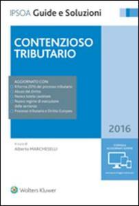 Libro Contenzioso tributario 2016