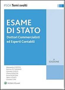 Dottori commercialisti ed esperti contabili. Esame di Stato.pdf