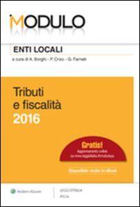 Libro Modulo enti locali 2016. Tributi e fiscalità