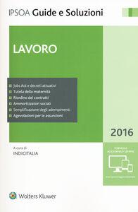 Libro Lavoro 2016