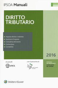 Libro Diritto tributario. Con aggiornamento online