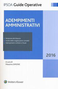 Libro Adempimenti amministrativi. Con e-book