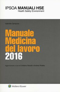 Libro Manuale medicina del lavoro 2016 Gabriele Campura
