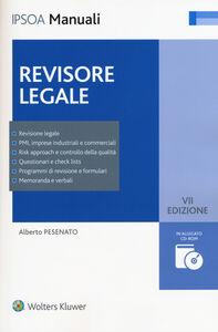 Libro Revisore legale. Con CD-ROM Alberto Pesenato