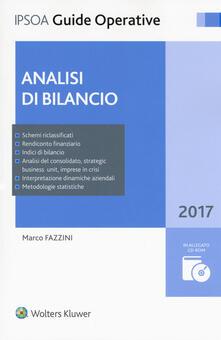 Analisi di bilancio. Con Contenuto digitale per download e accesso on line. Con CD-ROM.pdf