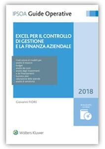 Excel per il controllo di gestione e la finanza aziendale