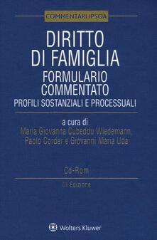 Diritto di famiglia. Formulario commentato. Profili sostanziali e processuali. Con CD-ROM.pdf