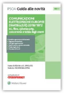 Antondemarirreguera.es Comunicazioni elettroniche europee. Direttiva (UE) 2018-1972. 5G, fibra, cybersecurity, concorrenza e tutela degli utenti Image