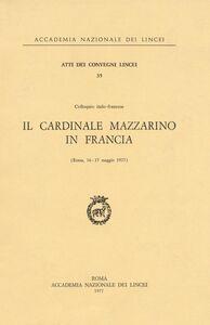 Libro Il cardinale Mazzarino in Francia