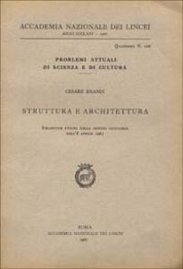 Struttura e architettura