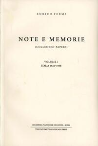 Note e memorie-Collected papers